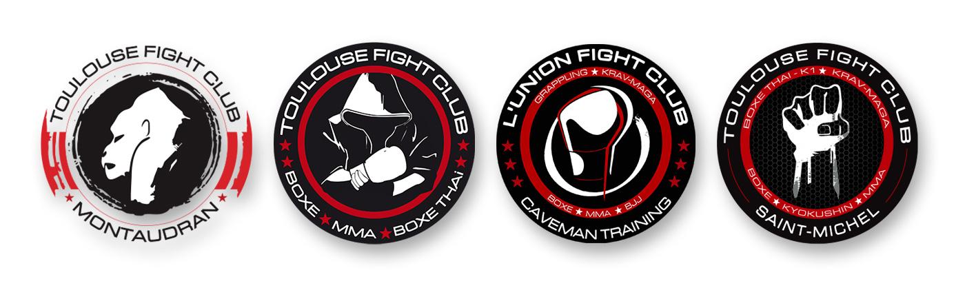 Logos-ToulouseFightClub